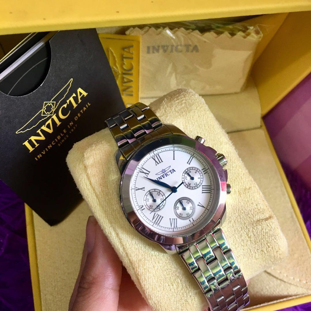 Display Analog Carousell On Watch Swiss 21653 Invicta Specialty RL3A54jq