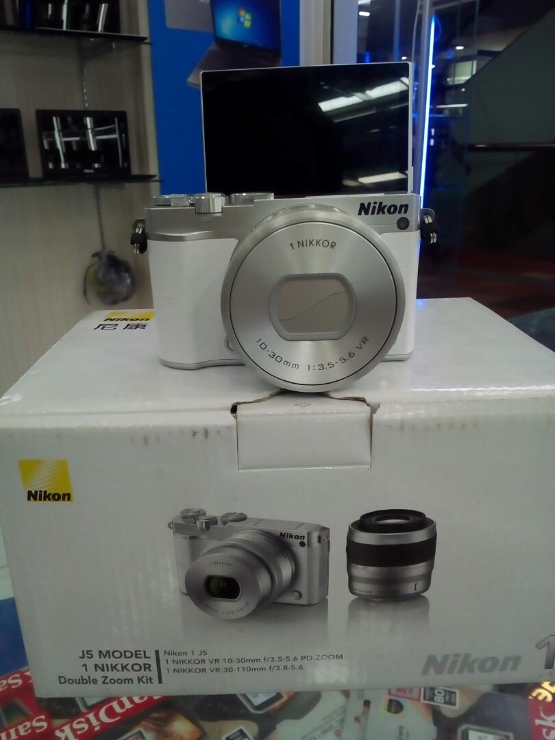 Kamera Nikon J5 Kit 10 30mm Photography On Carousell 1 Double 30 110mm Black
