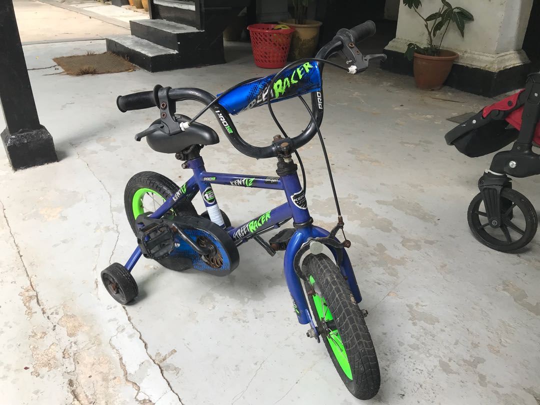 Kids 4 Wheel Trainer Bicycle Bicycles Pmds Bicycles Others On