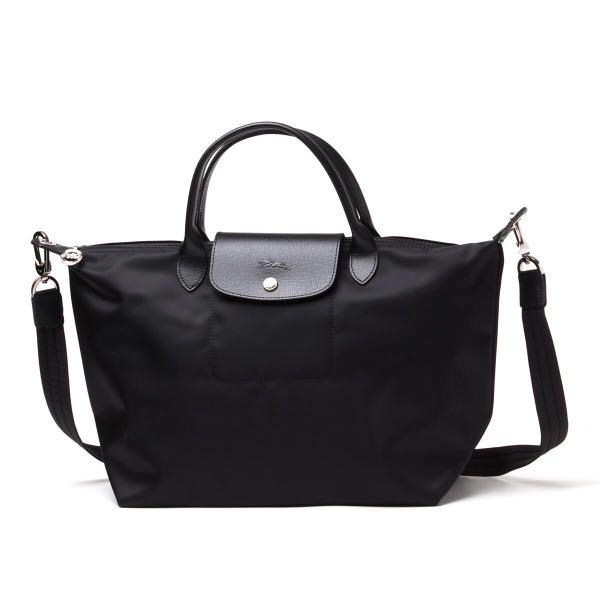 8fe4a73b4f5b Longchamp Le Pliage Neo sling bag black large size black
