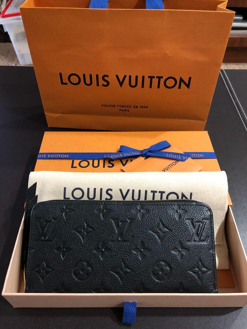 lowest price e5a09 a9b2e Louis Vuitton Wallet M61864 Z.WALLET NM M.EMP. NOIR, Women's ...