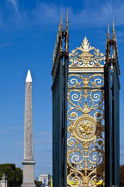MINT Hermes 90cm silk scarf Les Tuileries by Joachim Metz