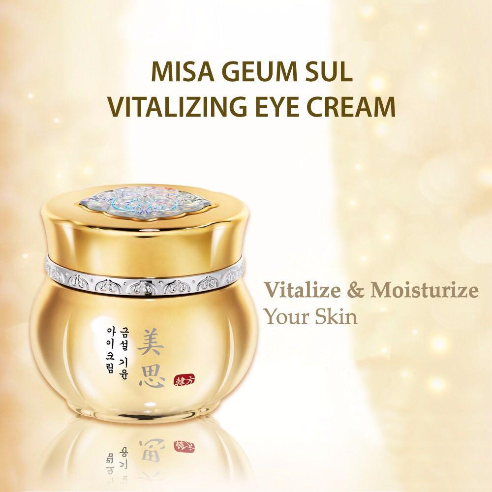 MISSHA Geum Sul Vitalizing Eye Cream 30ml, Health & Beauty, Skin ...