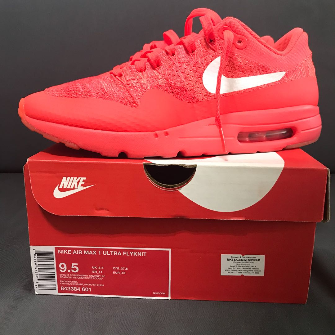 low cost c62b7 aef14 Nike Air Max 1 Ultra Flyknit