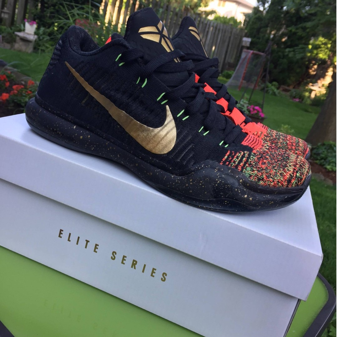 b59361643871 Nike Kobe 10 Elite Low Christmas