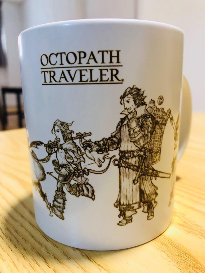 Octopath Traveler Mug, Square Enix Cafe Store Exclusive!!