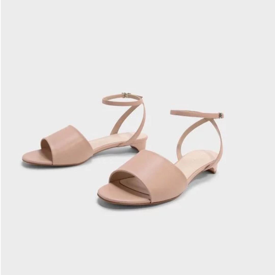 dc5f0d86c92d Original Charles   Keith Ankle Strap Sandals Fashion Shoes