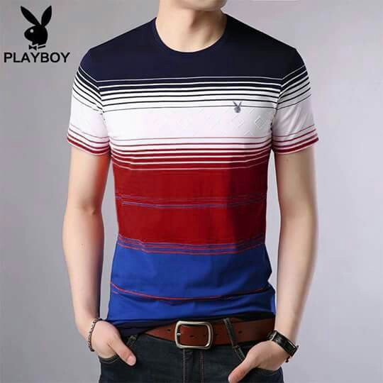 e70125a4a2f1 Playboy shirt, Men's Fashion, Clothes, Tops on Carousell