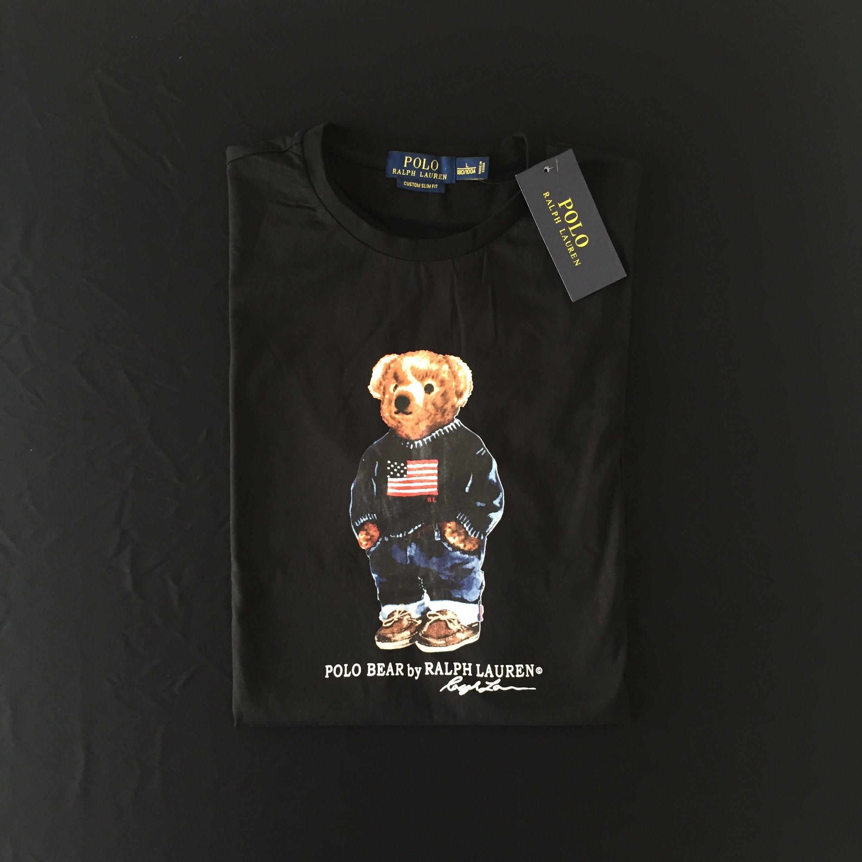 305fec06 Polo Ralph Lauren Bear T-Shirt, Men's Fashion, Clothes on Carousell