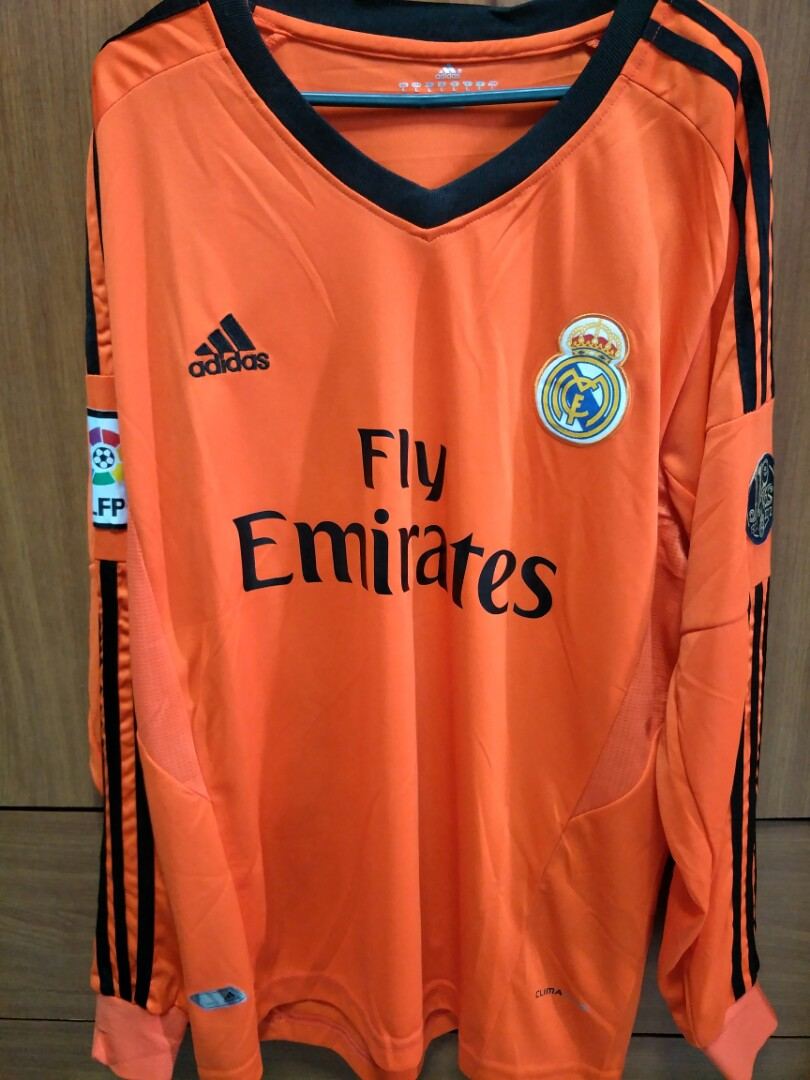 premium selection 4667b 5a30d Real Madrid Replica 13/14 Alternate Long Sleeve Kit