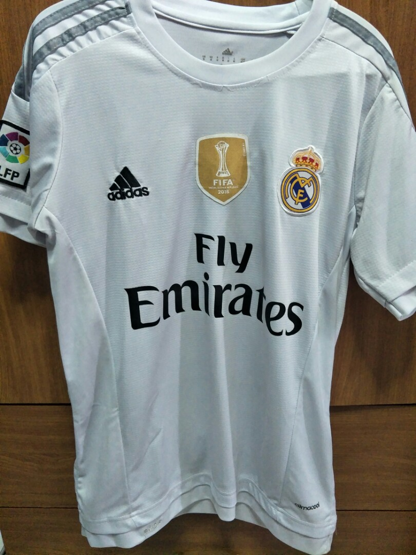 ad96cabbb8f Real Madrid Replica 15 16 Home Kit