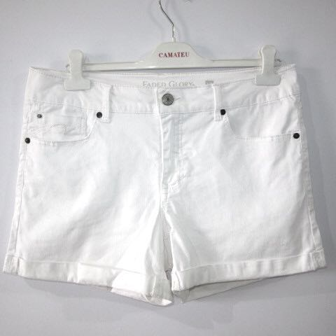3488829c5d reserved-- (35) Faded Glory stretch white denim mid rise white ...