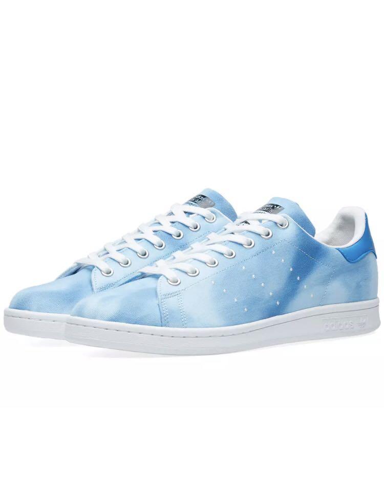 29622563 SALE* Adidas Stan Smith x Pharrell Williams Blue, Men's Fashion ...
