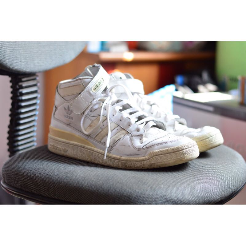 Sepatu Adidas classic basketball putih size 44 4e449ec37a