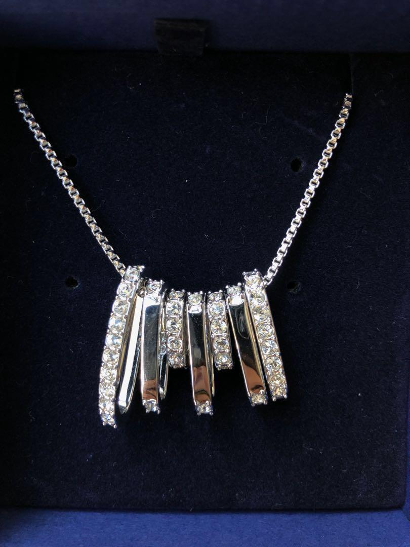 Swarovski Crystal Rhodium Plating Necklace