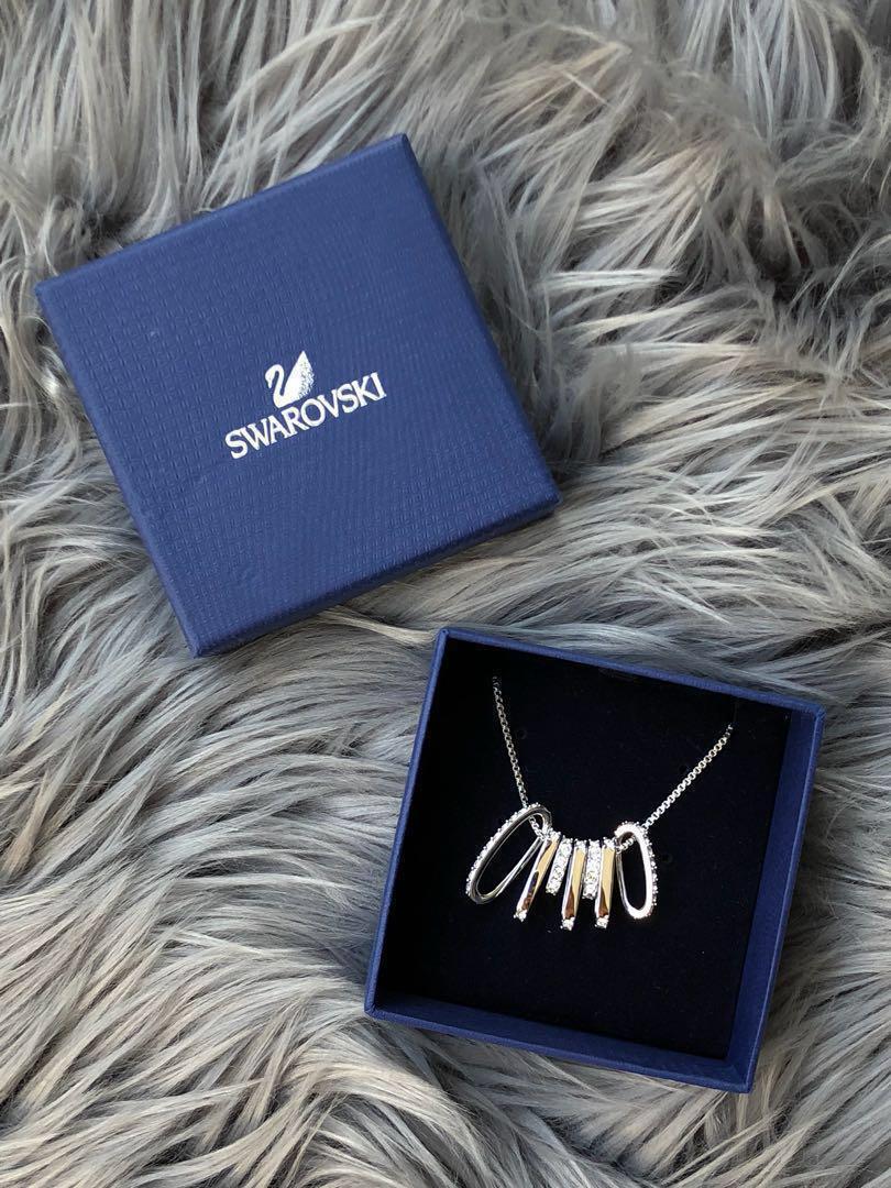Swarovski Crystal Rhodium Plating Necklace