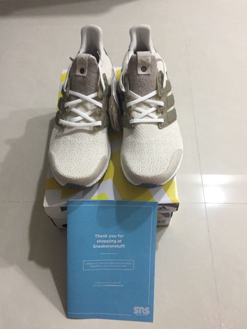 92efdab51 UK 11  US 11.5 Adidas Ultra Boost Lux Sneakersnstuff x Social Status ...