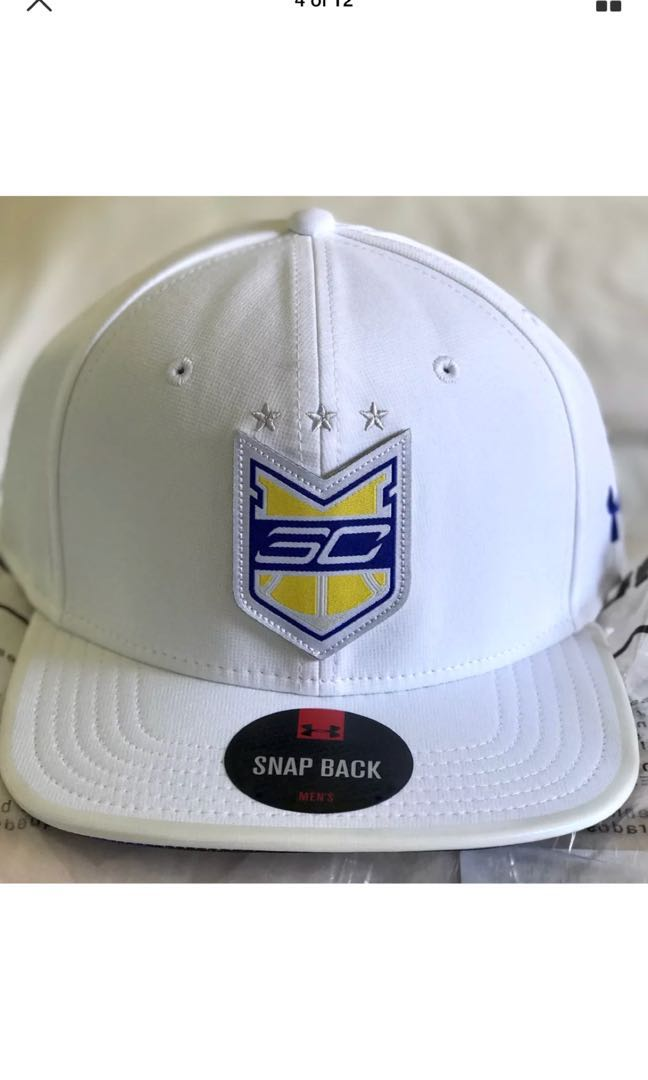 cad47f84374 Under Armour Steph Curry UA30 Crest White SnapBack Cap