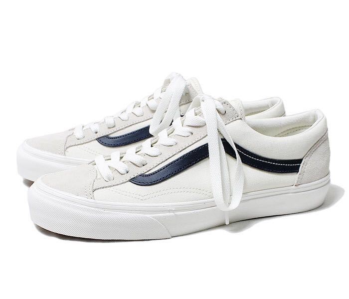 b5f7791bbdcc Vans Old Skool Van Style 36 Blue   Marshmellow White   Cream White ...