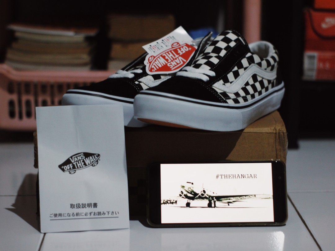 97cf5c92fb Vans Oldskool Checkerboard (Japan Market)