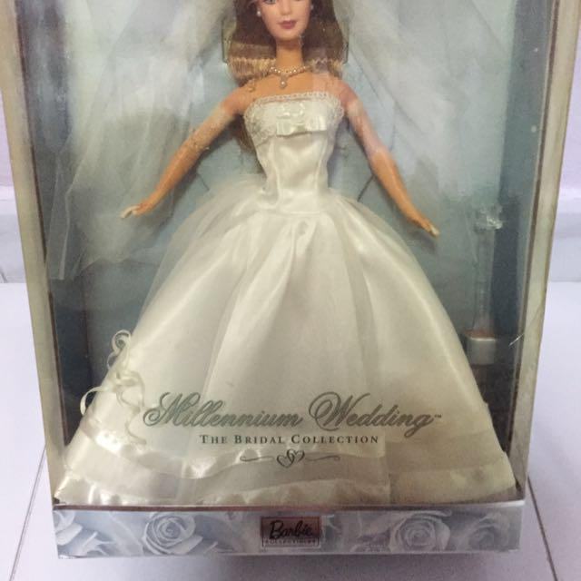 Millennium Wedding Barbie  First In A Series The Bridal Collection