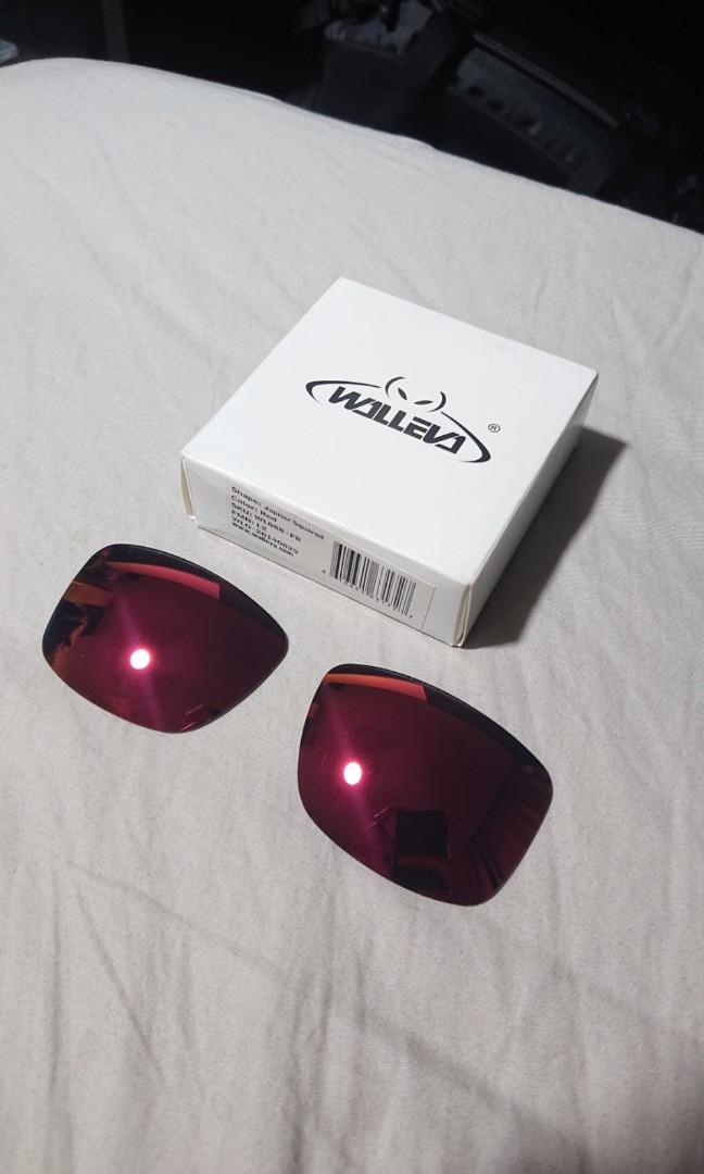 9a55e60e7d9f5 Walleva Jupiter squared Oakley red lenses