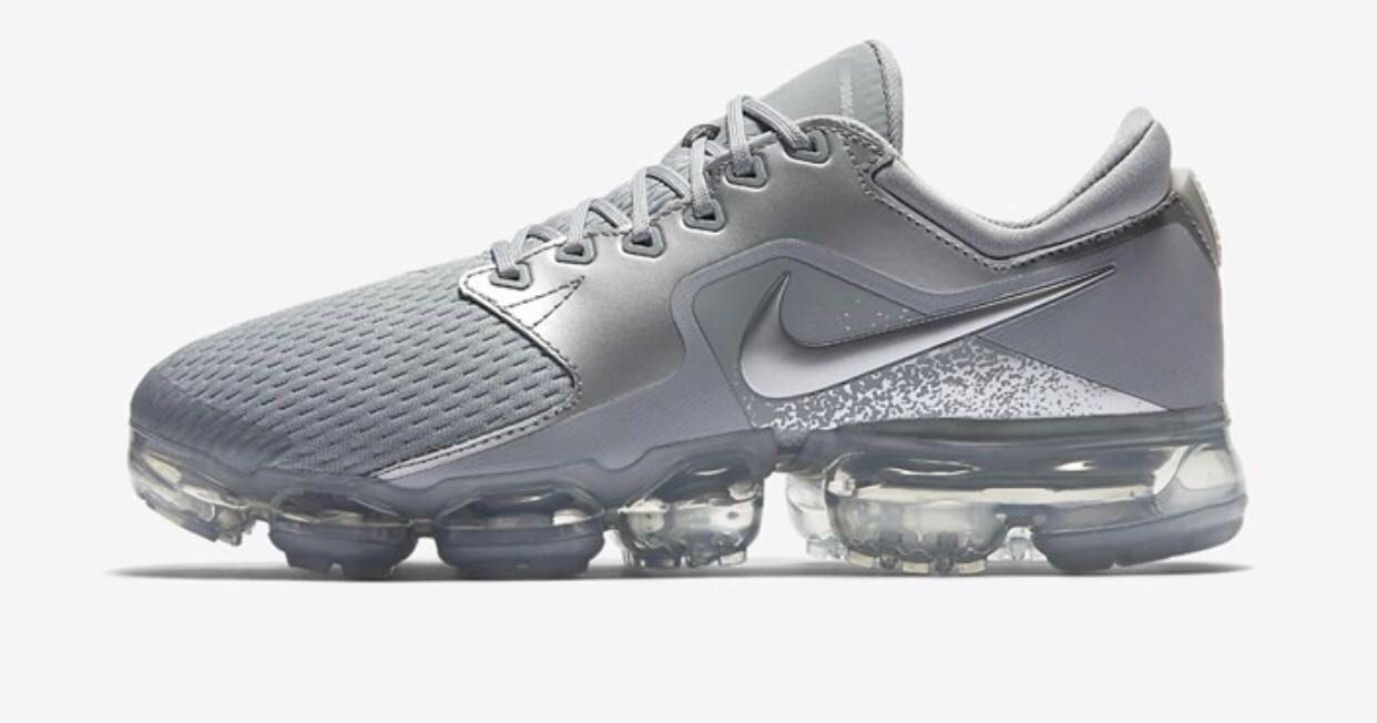 534778ce140d9 ... france womens nike air vapormax in metallic wolfgrey womens fashion shoes  sneakers on carousell 666a6 9d251