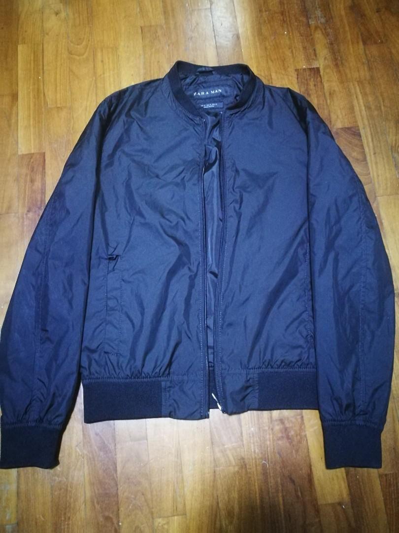 62033f25 Zara Mens Black Bomber Jacket, Men's Fashion, Clothes, Outerwear on ...