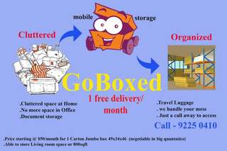 GoBoxed mobile storage