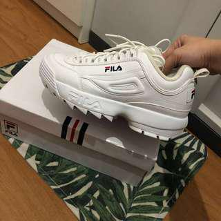 Fila Distruptor II Sneakers Size 40
