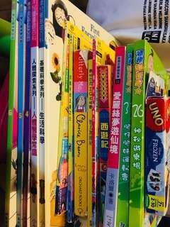 免費送兒童舊書(全要,免揀)