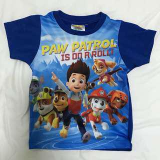 Paw Patrol T-shirt (Authentic Blue Tee)