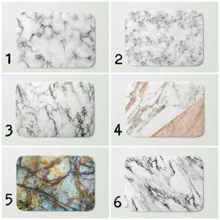 Marble Design Floor Mat