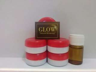 """Whitening home peel treatment by """" GLOW"""""""