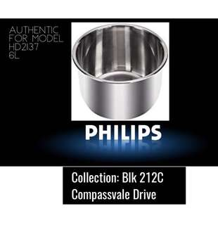 Philips BN Stainless steel inner pot -PPC replacement
