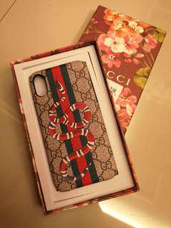 Gucci Casing for iPhone X