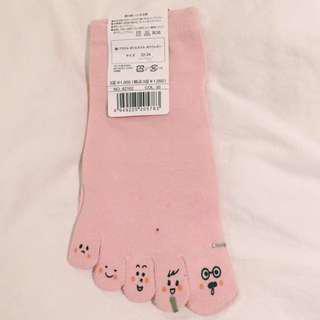 日本原裝可愛五指襪襪