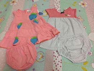 2 set baby girl skirts