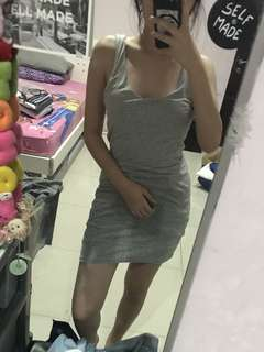 Juicy Couture Bodycon Grey Dress