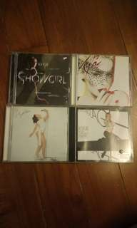 1套賣4set cd+1隻dvd kylie minogue