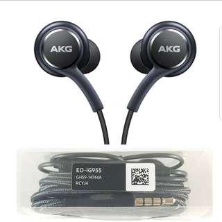 🎧Original Samsung Earphones by AKG (S9 plus, Note9 sets) EO-IG955 earpiece s8 earpiece s9 earpiece samsung earpiece note 8 earpiece xiaomi earpiece huawei oppo