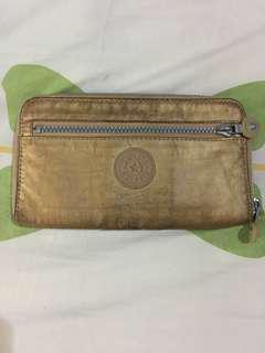 Dompet/Wallet Kipling Gold