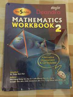 Shinglee Mathematics Workbook 2 (New Syllabus)