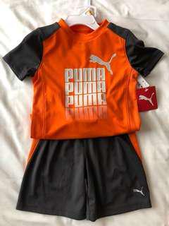 Puma dri-fit boys sportswear set