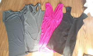 8 Jersey dreses XS