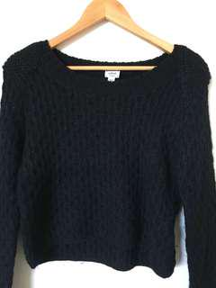 Wilfred Cropped Sweater • 100% Alpaca Wool