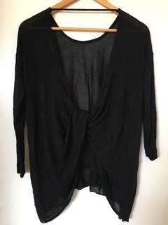 Mendocino Open-Back Shirt