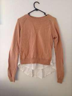 Caramel coloured Sweater
