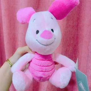 🚚 🎀日本迪士尼代購 小熊維尼 好朋友 小豬 玩偶 娃娃