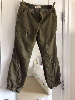 Very soft material joggers